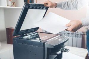 Como Descobrir se a Impressora Está Entupida