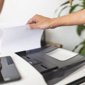 Como Saber se a Impressora Está Entupida